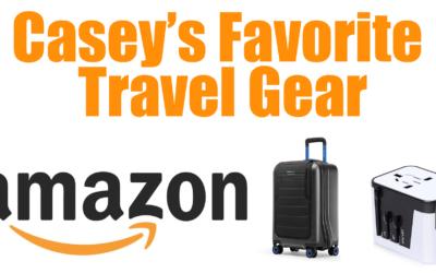Casey's Favorite Travel Gear