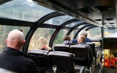 The Canadian Rockies on Via Rail
