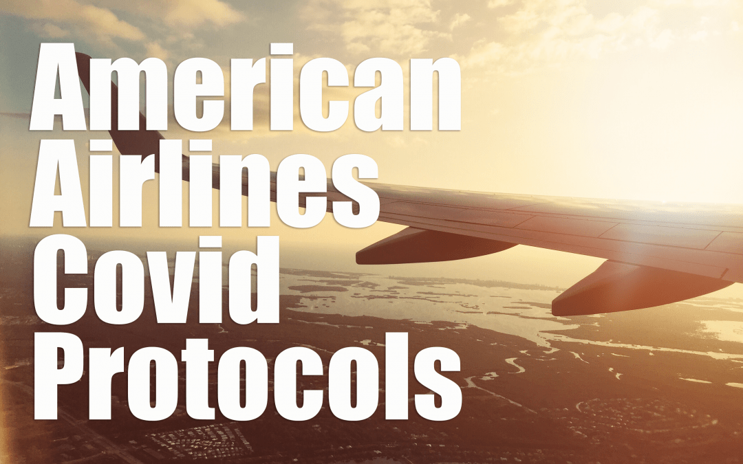 Covid Cleaning & Safety Protocols on American Airlines
